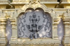 Vishnu on Garuda Royalty Free Stock Images