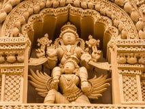 Vishnu and Garuda - Nanjangud. Stock Photography