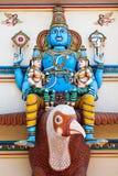 Vishnu on Garuda Stock Image