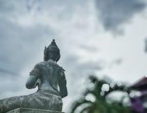 Vishnu ist der Gott von Hinduismus, den Indy-Leute respektieren stockfoto