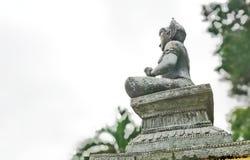 Vishnu ist der Gott von Hinduismus, den Indy-Leute respektieren stockbilder