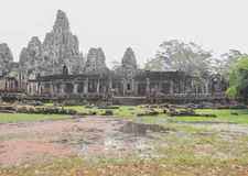 Vishnu the lintel Angkor Bayon Royalty Free Stock Image