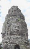 Vishnu the lintel Angkor Bayon Stock Image