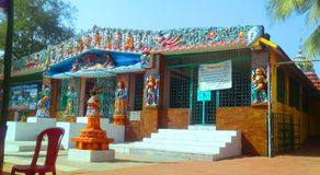 Vishnu mandir σε bhubaneswar στοκ φωτογραφίες