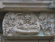 Vishnu reclining Yasin Thailand Royalty Free Stock Image