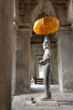 Vishnu Statue at Angkor Wat Stock Photos