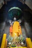 Vishnu-Statue bei Angkor Wat, Stockbilder