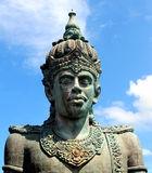 Vishnu. Statue at one of famous place in bali called GWK Stock Photos