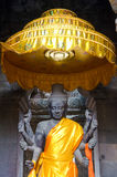 Vishnu staty, Angkor Wat Fotografering för Bildbyråer