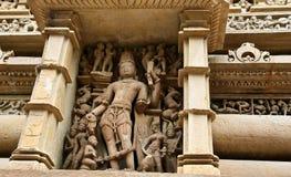 Vishnu - szanujący bóstwo Zdjęcia Royalty Free