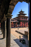 Vishnu tempel och kunglig slott Royaltyfri Fotografi