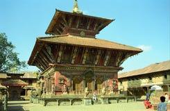 Vishnu Temple, Changu Narayan, Nepal Royalty Free Stock Photos