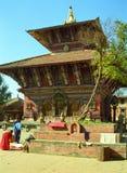 Vishnu Temple, Changu Narayan, Nepal Royalty Free Stock Image