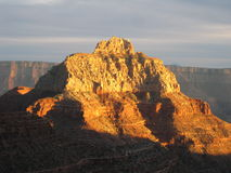 Vishnu Temple, Grand Canyon lizenzfreie stockbilder