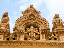 Vishnu y Garuda Fotografía de archivo libre de regalías