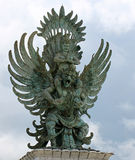 Vishnu y Garuda Imagen de archivo libre de regalías