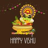 Vishu felice illustrazione di stock
