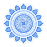 Vishuddha Chakra Ελεύθερη απεικόνιση δικαιώματος