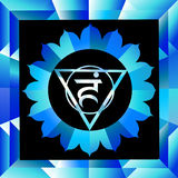 Vishuddha chakra Royalty Free Stock Photo