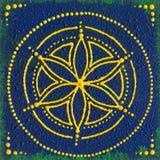 Vishuddha halschakra Royaltyfria Foton