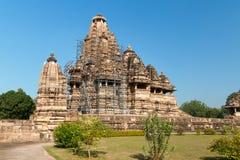 Vishvanath świątynia w Khajuraho Zdjęcie Stock