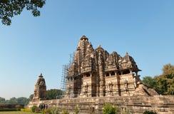 Vishvanath świątynia w Khajuraho Zdjęcia Stock
