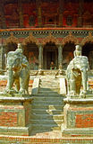 Vishwanath tempel, Patan, Nepal Arkivfoto