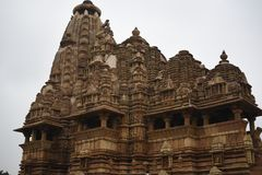 Vishwanath  temple, Khajuraho, India Royalty Free Stock Photography