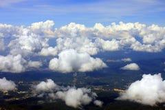 Visión aérea foto de archivo libre de regalías