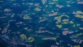 Visión aérea asombrosa Fotos de archivo libres de regalías
