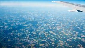 Visión aérea asombrosa Fotografía de archivo