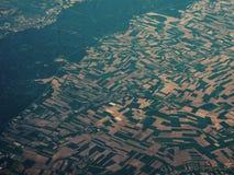 Visión aérea asombrosa Fotografía de archivo libre de regalías