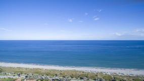 Visión aérea Delray Beach, la Florida Fotografía de archivo