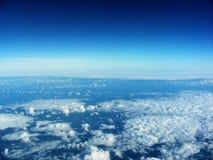 Visión aérea desde el aeroplano Fotos de archivo