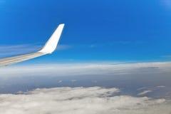 Visión aérea desde el plano Imagen de archivo libre de regalías
