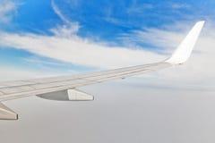 Visión aérea desde el plano Fotos de archivo