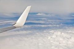 Visión aérea desde el plano Imagenes de archivo