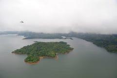 Visión aérea en Costa Rica Fotos de archivo