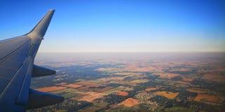 Visión aérea hermosa imagen de archivo
