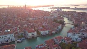 Visión aérea Italia Venecia metrajes