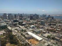 Visión aérea San Diego Fotografía de archivo