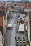 Visión aérea Schwandorf Fotos de archivo libres de regalías