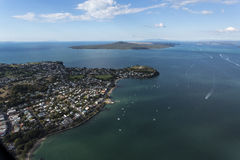 Golfo de Hauraki Fotografía de archivo