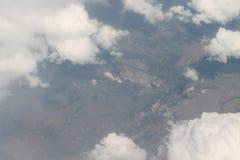 Visión aérea sobre Europa Imagen de archivo libre de regalías