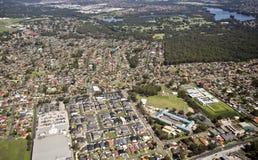 Visión aérea urbana imágenes de archivo libres de regalías