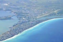 Visión aérea Varadero foto de archivo