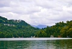 Visión abajo del lago Fotografía de archivo libre de regalías