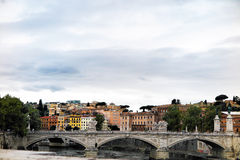 Visión agradable en Roma, Italia Fotografía de archivo libre de regalías