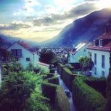 Visión alpina Imágenes de archivo libres de regalías