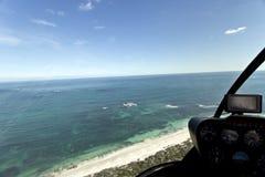 Visión costera aérea foto de archivo
